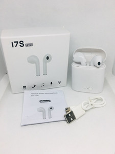 Wholesale White Black V5 Bluetooth Headphones I7 I7S TWS Twins Earbuds Mini Wireless Earphones Headset for phone Android with retail Package