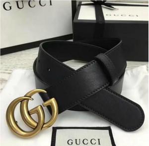 belt and box 2019 high quality luxury style Medusa Genuine Leather ceinture belt for mens womens belts designers strap man Jeans belts