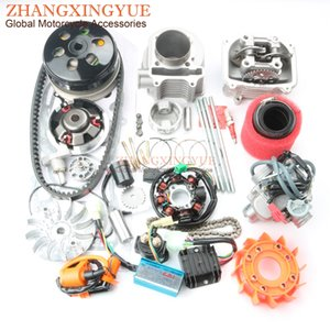 Wholesale Scooter mm NON Egr Cylinder Head Big Bore Kit PD24J Carburetor mm Air Filter for GY6 cc QMI QMJ Upgrade cc