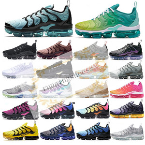 2019 tn plus Outdoor Shoes Bumblebee Be Ture Hyper Blue Violet Pink Rise Tropical Sunset Game Royal Mens Women Sports Sneakers 36-45