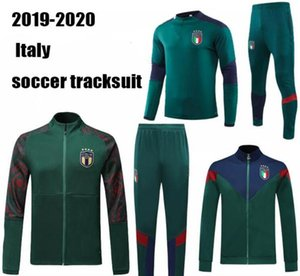 Wholesale italy soccer tracksuit for sale - Group buy 19 European Cup Italy jacket tracksuit soccer set IMMOBILE ITALY BELOTTI Verratti Chiellini INSIGNE Football jacket sportswear calcio HOT