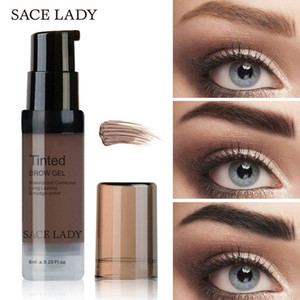 Wholesale eye brow dye resale online - LADY Henna Eyebrow Dye Gel Waterproof Makeup Shadow For Eye Brow Wax Long Lasting Tint Shade Make Up Paint Pomade Cosmetic