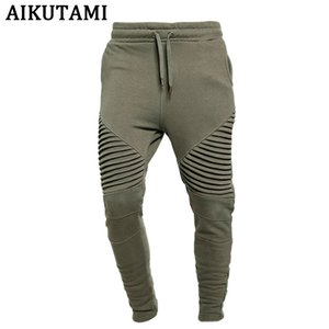 Jogging Pants Men 100% Cotton Gym Leggings Trackpants Army Green Loose Mens Sport Pants Training Fitness Running Man