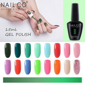 Wholesale summer nails colors resale online - NAILCO ML Colors Hot summer Serie Uv Vernis Semi Permanent Gel Nail Polish Hybrid Lacquer Art Decorations For Top Base Coat