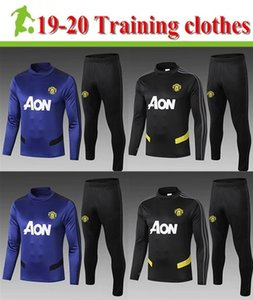 Wholesale adult tracksuit Manchéster United tracksuit adult long sleeve sweat suit jacket adult Manchester training clothes