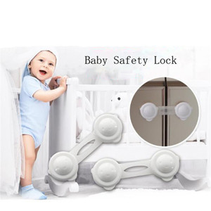Wholesale Multifunction Cupboard safety Lock Protect Locks Child Baby Door drawer Safety Lock Baby kids Safe Furniture protect supplies