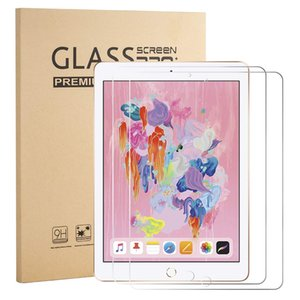 Wholesale For Apple iPad th Pro Tempered Glass For Air Mini Screen Protector Flim pack