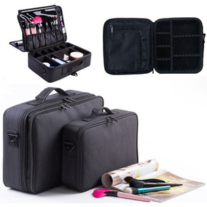 Wholesale Women Fashion Cosmetic Bag Travel Makeup Organizer Professional Make Up Box Cosmetics Pouch Bags Beauty Case For Makeup Artist