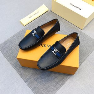 Wholesale mix model Luxury style Men s Dress Casual Party Loafers Shoe Cowskin Single Shoe Slip On part Wedding Italian Shoes mens designer l