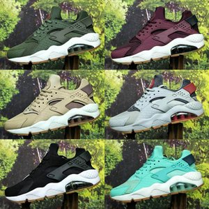 Huarache ID Custom Breathe Kids Running Shoes For Men Women Denim navy blue tan Huaraches Multicolor Sneakers Hurache Sport