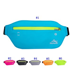 Wholesale Outdoor Sport Waist Bag Belt Pouch Waterproof Nylon Belt Pouch Multifunction Running Pocket Case Arm Band Pack MMA2447