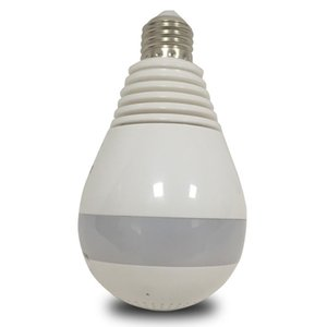 Wholesale 960P IR LED Bulb Cam Degree MP WiFi Wireless P2P Night Vision Security Panoramic IP Camera V380
