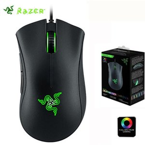 Wholesale mouse razer for sale - Group buy Razer DeathAdder Chroma Multi Color Ergonomic Gaming Mouse DPI Sensor Comfortable Grip Worlds Most Popular Computer Gaming Mouse