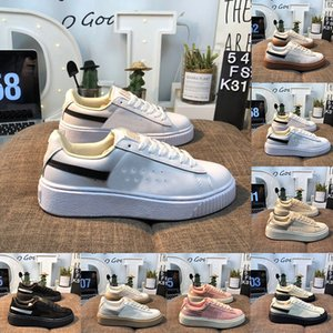 Wholesale 2020 Fashion Rihanna Designer Flats Casual Shoes Triple Black White Pink Suede Platform Skateboard Shoes Creepers Womens Run Sport Sneaker