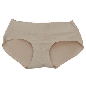 Sexy Panty Knickers Buttock Backside Bum Padded Butt Enhancer Hip Up - XL(Flesh color)