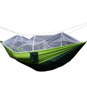 ingrosso lacrima leggera-Coupe Prevention Camp All aperto Tenda Tipo Hammock Belt Zanzariera Prevenzione della luce Tearing Nylon Swing Hanging Chair