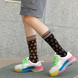 Autumn and winter new women socks simple fashion cotton tube socks Europe and the United States leisure hip hop women socks