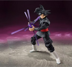 Wholesale Anime Dragon Ball Z Super Saiyan Gokou Black Joint Movable PVC Action Figure Collection Model Kids Toy Doll cm Y191105