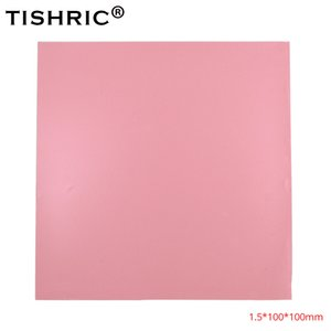 Wholesale TISHRIC High Performace Computer Fan PC Heatsink Heat Sink Cooling Cooler Conductive Silicone Pad GPU CPU Thermal Pads mm