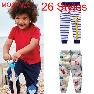 Wholesale Factory Direct Boys Spring and Autumn Winter Sports Pants Children's Trousers Dinosaur Cartoon Baby Pants