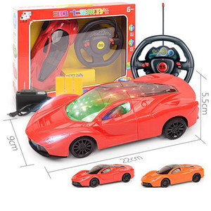 Wholesale For Children Channel d Light Electric Analog Steering Wheel Remote Control Car Wltoys Radio Control