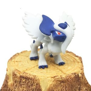 Original mega Absol anime cartoon action & toy figures Collection model toy KEN HU STORE pks