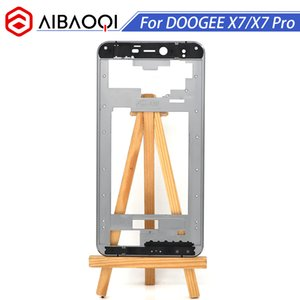 Wholesale AiBaoQi New Original Front Frame For inch Doogee X7 X7 Pro Front Housing Cover Case Assembly Replacement M adhesive
