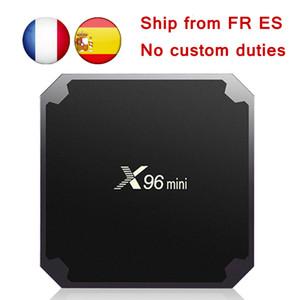 EU Tax Free [Genuine] X96 MINI Android 7.1 TV box Amlogic S905W Quad Core 1GB 8GB 2GB 16GB TV Boxes Smart TV