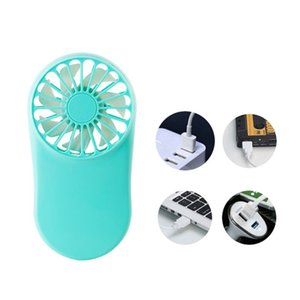Wholesale Rechargeable USB Mini Portable Pocket Fan Cool Air Hand Held Travel Cooler Cooling Mini Fans Q81E