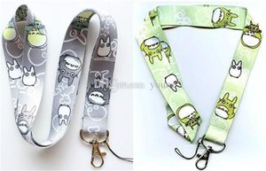 Wholesale Hot Classic Anime My Neighbor Totoro Nylon Neck Strap Lanyard Cell Phone Camera Id Card Keychain Anime Gift Can Choose