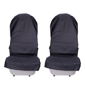 utomobiles Covers Waterproof Car Seat Covers Oxford Cloth Automobile Front Seat Cover Protector Pads 2 Pcs Durable Car Interior Accessor... on Sale