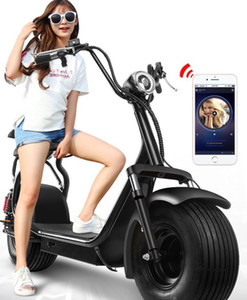 Electric scooter, wide tire battery manufacturer, front and rear shock absorbers can bring people 1700x750x900(mm) on Sale