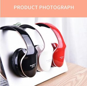 Wholesale Exquisite Big Soft Earmuff Wireless Headphone Foldable Bluetooth Headset Stereo Game Earphone For Mobile Phone Support TF Card
