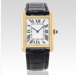 Wholesale free shipping Men Women fashion gold case white dial watch watches