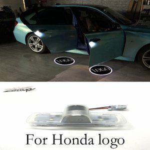 Wholesale Maxup a pair LED Car Door Welcome light Laser Projector Logo Door Ghost Shadow LED Light For Honda Accord Crosstour new arrival