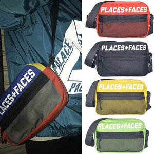 Retro Crossbodybag Places+Faces 3M Reflective Skateboards P+F Message Bag Casual Mens Hip-hop Chest Shoulder Bags Mobile Phone Waist packs