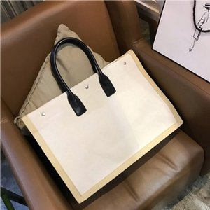 Wholesale Classic style women handbags lady large capacity casual totes fashion shoulder bags hot sale female canvas top handle bags fast shipping
