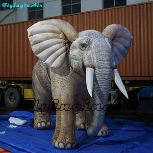 Customized Giant Park Show Elephant 2m 5m Height Parade Inflatable Elephant With Blower For Event Street