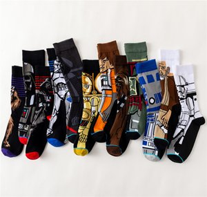 Teenager Sock Women MEN 100% Cotton Orangutan Fashion Design Symmetry Socking Skateboard leisure socks