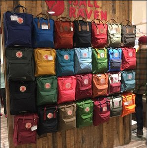 Wholesale 2019 Brand Swedish Fox Backpack Juniors Shoulder Bags for girl Waterproof Rucksack Sports Schoolbag Travel Totes Large Size Backpacks C82007