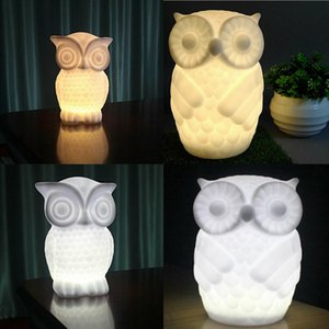 Baby Owl Shape Table Lamp Indoor Decorative Baby Bed Room Wall Lamp Decor NEW
