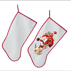 Wholesale sublimation christmas stocking christmas decoration Socks personalized blank diy custom consumables supplies hot transfer material