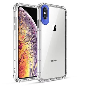 Wholesale 1 mm Transparent Soft TPU Case for iPhone X XS XR MAX ultra clear Shock absorbing bumper cover with camera protection