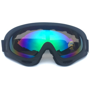 Wholesale Winter Snow Sports Skiing Snowboard Snowmobile Anti fog Goggles Windproof Dustproof Glasses Anti fog Mirrored Lens Goggles
