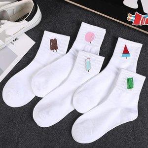 Thicken Snow Kawaii Cartoon Womens Colorful Fashion Socks In Tube Casual Taste Cotton Socks Short 3d Printed Anklet Socks Sock Slippers Underwear & Sleepwears