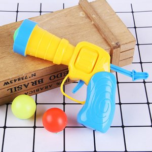 Wholesale pistol Table Tennis Gun pistol Plastic Ball Flying Disk Shooting Toy Outdoor Sports Children Gift pistol Boy Toy Spit Balls Tabl
