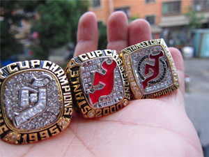 Wholesale 1995 New Jersey Devils Stanley Cup Championship Ring Fan Promotional Gift Brithday Drop Shipping