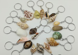 Wholesale mixed COLOR RANDOM Nautical Fashion Jewelry Mixed Sea Shells charms Crafts For Earrings Necklace DIY Hair Accessories Keychain Funny keyring