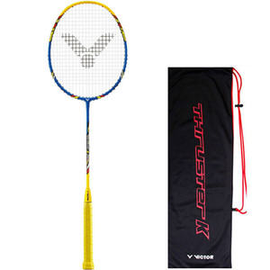Wholesale Original Victor High Tension TK H U U Badminton Racket FULL CARBON Badminton Racquets With Strung Free Gift
