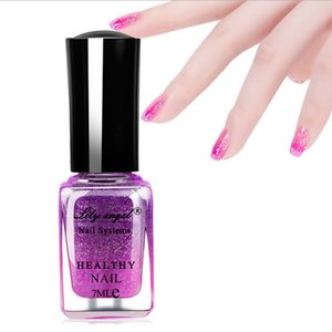 Nail Polish Color Changing Manicure Gel Peelable For Women Girls 7ml Glitter on Sale